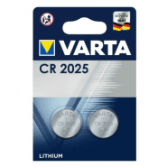 Varta CR2025 / DL2025 / ECR2025 3V Lithium electronics batteries, 2 pc.