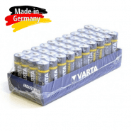 Varta Industrial AAA / LR03 / MICRO / MN2400 1.5V 1250mAh Alkaline batteries (made in Germany), 40 pc.