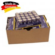Varta Industrial D / LR20 / MONO / MN1300 1.5V 17000mAh Alkaline baterija (ražots Vācijā) 100 gab.