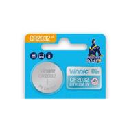 Vinnic 2032 DL2032 / CR2032 / K2032L 3V 210mAh litija elektronikas (electronics) baterija, 1 gab.