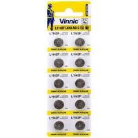 Vinnic L1154F / AG13 / LR44 / A76 / V13GA 1.5V 140mAh Alkaline pulksteņa baterijas 10 gab.