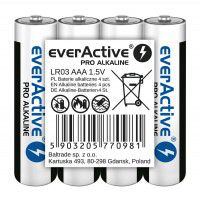 everActive Pro Alkaline (01.2030.) AAA LR03 1.5V 1250mAh batteries, 4 pc. shrink