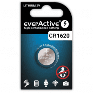 everActive CR1620/DL1620 3V lithium battery, 1 pc.