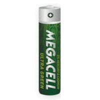 Megacell Ultra Green Zinc-Carbon LR03/AAA/R03/MN 2400/Micro/AM4/E92 1.5V battery 1 pc.