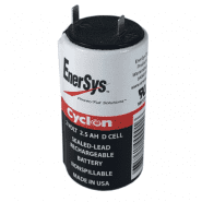 Enersys Cyclon (D) 2V 2.5Ah Loodaccu Deep cycle sealed-lead rechargeable battery
