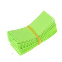 1x 18650 heat shrink wrap battery cover (light green)