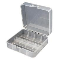2x 17500 li-Ion battery box (transparent)