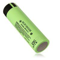 Panasonic Japan NCR-18650B 18650 Li-Ion, 6.8A/12A Pulse, 3.6V, 3400mAh battery