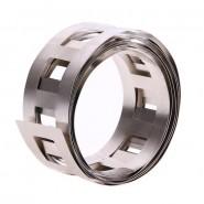 Nickel Welding Strip 27mm x 0.15mm (niķeļa metināšanas plāksnīte) akumulatoru paku veidošanai, 1 metrs