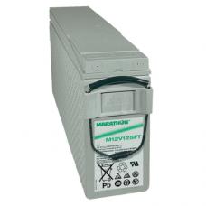 Exide GNB Marathon M-FT 12V 121Ah VRLA (Valve Regulated Lead-Acid) lead–acid battery with AGM (Absorbed Glass Mat) technology M12V125FT for UPS equipment, terminal F-M6-90