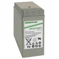 Exide GNB Marathon M-FT 12V 48Ah VRLA (Valve Regulated Lead-Acid) lead–acid battery with AGM (Absorbed Glass Mat) technology M12V50FT for UPS equipment, terminal M-M6-90