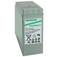 Exide GNB Marathon M-FT 12V 59Ah VRLA (Valve Regulated Lead-Acid) lead–acid battery with AGM (Absorbed Glass Mat) technology M12V60FT for UPS equipment, terminal M-M6-90