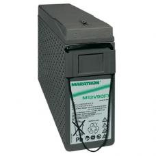 Exide GNB Marathon M-FT 12V 86Ah VRLA (Valve Regulated Lead-Acid) lead–acid battery with AGM (Absorbed Glass Mat) technology M12V90FT for UPS equipment, terminal F-M6-90