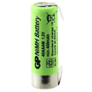 GP 40AAAM 2/3 AAA 400mAh 1.2V NiMH rechargeable battery with u-tags