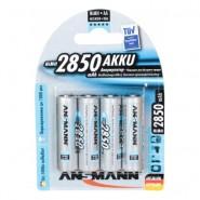 Ansmann AA/MIGNON/HR6 Ni-MH 2650mAh 1.2V Low Self Discharge (LSD) battery 4 pc.