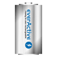 1x everActive Silver Line D R20 5500mAh 1.2V Low Self Discharge (LSD) Ni-MH rechargeable batteries, 1 pc., bulk
