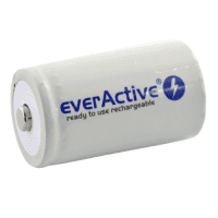 1x everActive Professional Line D R20 10000mAh 1.2V Low Self Discharge (LSD) Ni-MH rechargeable batteries, 1 pc., bulk