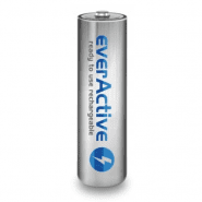 1x everActive Silver Line AA R6 2000mAh 1.2V Low Self Discharge (LSD) Ni-MH rechargeable batteries, 1 pc., bulk