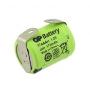 GP 17AAAH 1/3 AAA 170mAh 1.2V Ni-MH battery with u-tags