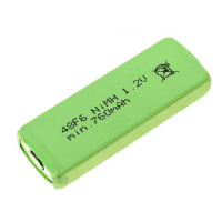 Mexcel H-48F6 760mAh 1.2V Ni-MH rechargeable battery