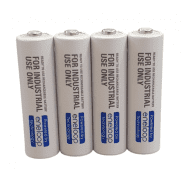 4x Panasonic Eneloop industrial AA 1900mAh/2000mAh 1.2V NiMH rechargeable batteries for professional use only, BK-3MCCF 2100x, year of manufacture: 2020, 4 pc.