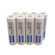 8x Panasonic Eneloop industrial AA 1900mAh/2000mAh 1.2V NiMH rechargeable batteries for professional use only, BK-3MCCF 2100x, year of manufacture: 2020, 8 pc. in a box