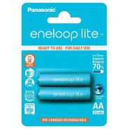 2x Panasonic Eneloop Lite AA 950mAh/1000mAh 1.2V Ni-MH rechargeable batteries, 2 pc., blister