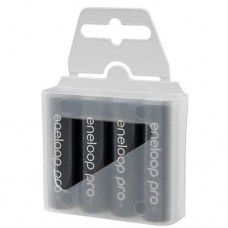 4x Panasonic Eneloop Pro AA 2550mAh 1.2V Ni-MH rechargeable batteries BK-3HCDE 500x, 4 pc. in a box