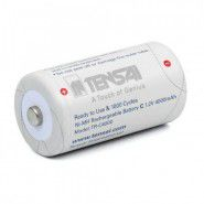 1x Tensai C/R14 4050mAh 1.2V NiMH rechargeable battery TR-C4000 1000x, 1 pc.