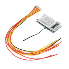 10S 30A 36V Lithium Battery Protection PCB Protection Board With Balance Cables for 18650 Li-ion battery
