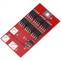 1S 10A 3.7V/4.2V Lithium Battery Protection PCB protection board for 18650 Li-ion batteries