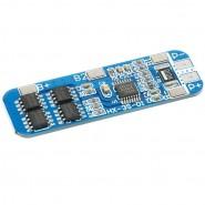 3S PCM / PCB 4MOS 1550 aizsardzības shēma 3.7V Li-Ion akumulatoriem