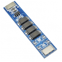 1S 10A 3.7V Lithium Battery Protection PCB protection board for 18650 Li-ion batteries