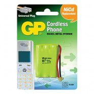 GP Cordless Phone T207 550mAh 3.6V Ni-MH battery for cordless phone (55AAAH3BMU)