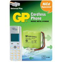 GP Cordless Phone T314 300mAh 3.6V Ni-MH battery for cordless phone (30AAAM3BMU)
