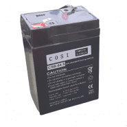 COSI CSB-64.5 (6V, 4.5Ah / 20HR) (4.8mm) VRLA (Valve Regulated Lead-Acid) lead–acid battery