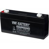 VMF SLA3.2-6 (6V, 3.2Ah / 20HR) (4.8mm) VRLA (Valve Regulated Lead-Acid) lead–acid battery with AGM (Absorbed Glass Mat) technology