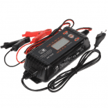 MW Power MW-SC6B Smart Battery Charger 12V and 24V for charging lead-acid, gel and AGM batteries (charger for auto, moto, boats, lawn mowers, tractors)