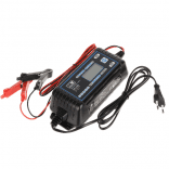 MW Power MW-SC8E Smart Battery Charger 12V and 24V for charging lead-acid, gel and AGM batteries (charger for auto, moto, boats, lawn mowers, tractors)