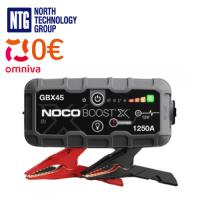 Noco Genius Boost X GBX45 1250A 12V Lithium Jump Starter for auto / moto batteries / USB powerbank