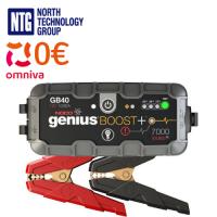 Noco GB40 Genius Boost+ 1000A 12V UltraSafe Lithium Jump Starter auto / kravas auto starteris litija akumulatoriem / USB powerbank