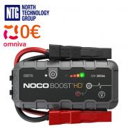 Noco GB70 Boost HD 2000A 12V UltraSafe Lithium Jump Starter auto / kravas auto / treileru starteris litija akumulatoriem / USB powerbank