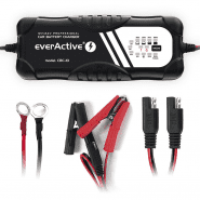 everActive CBC-10 v2 12V/24V 2-10A fully automatic charger for batteries 10-300Ah (car, moto, yacht, truck, tractor, trailer)