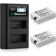 Powerextra LP-E8 battery charger for Сanon camera batteries