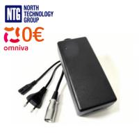 Modiary 42V 2A Li-Ion akumulatoru lādētājs elektrovelosipēdiem (Ebike), skūteriem, segway u.c. XLR5 plug