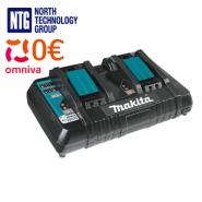 Makita 14.4-18V Dual Port Rapid Li-ion LXT charger, DC18RD