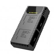 Nitecore UGP5 Intelligent Dual USB charger for Li-ion Batteries for GoPro HERO5 camera