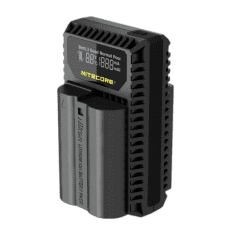 Nitecore UNK1 Dual-Slot USB charger for Li-ion EN-EL15/EN-EL14/EN-EL14a Batteries for Nikon camera