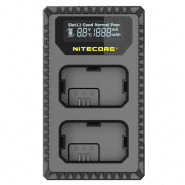 Nitecore USN1 Dual USB charger for Li-ion NP-FW50 Batteries for Sony camera