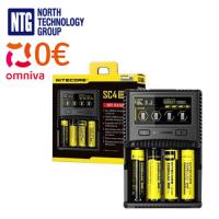 Nitecore Superb universal fast Charger SC4 for 4x Li-Ion/NiMH/Ni-Cd batteries